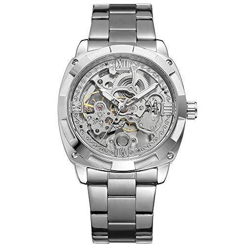 FORSINING Herren Skeleton Automatikaufzug Mechanische Uhren