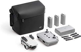 DJI Mini 2 Combo - Ligero y Plegable Drone, 3 Ejes Gimbal con Cámara 4K, Foto 12 MP, 3 Baterías, Centro de Carga, OcuSync ...