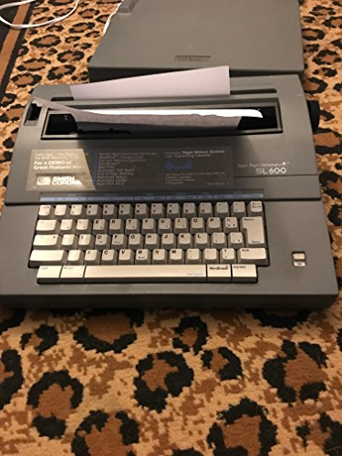 powerful Smith Corona SL600 electric typewriter with spelling dictionary