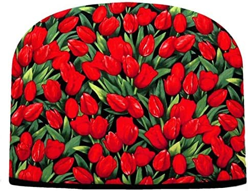 Blue Moon Tea Cozy Red Insulated Tulips Double Super intense Omaha Mall SALE Te Large
