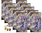 ★ Pokemon Espada & Cartel – Serie 2 Clash de los rebeldes – 10 x Booster – Alemán además 1 x Sticker-und-co Fruchtmix Bonbon