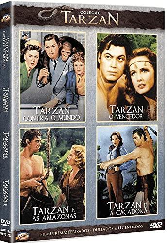 Coleção Tarzan III (4 filmes)