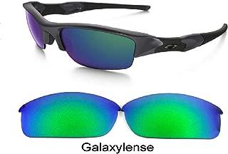 Galaxy lenses For Oakley Flak Jacket Sunglasses Polarized Green