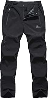 Gopune Men's Outdoor Lightweight Quick Dry Pants Workout Breathable Hiking Mountain Pants