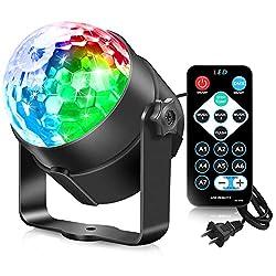 Image of AOMEES Dance Light Disco...: Bestviewsreviews