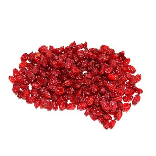 Snackberries Berberitzen Naturell | Premium Qualität | Neue Ernte 2020 | Unbehandelt | knallrot | 1 kg