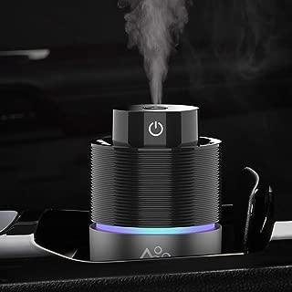 Vyaime USB Car Essential Oil Diffuser Car Humidifier, 7 Colors LED Lights 200mL Big..