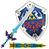 Party City The Legend of Zelda Sword & Shield Costume Kit