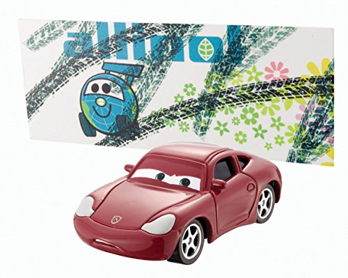 Disney World of Cars 2014 - Figurine vehicule voiture miniature - Asst. Y0471 - ALLINOL BLOWOUT - CHASE - 2/9 - MAGEN CARRAR BDX06