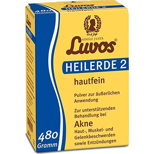 Luvos Luvos-Heilerde 2 hautfein (2 x 480 gr)