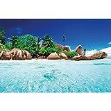 GREAT ART® XXL Poster – Insel im Paradiesischen