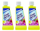 Carbona Stain Devils #1 Number One, Nail Polish, Glue & Gum No Scent Stain Remover Liquid 1.7 oz, Pack of 3