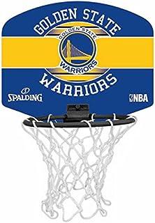 Spalding Mini Canasta NBA Miniboar Golden State