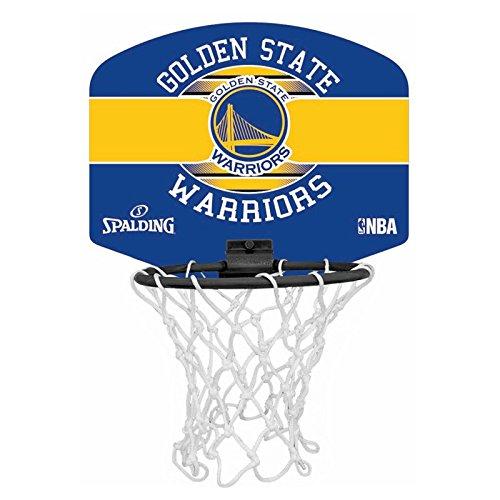Spalding NBA Miniboard Golden State 77-661Z Minicanasta, Unisex ...