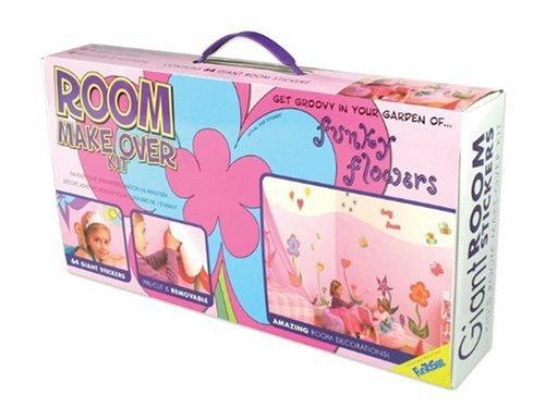 Funtosee Décoration - Coffret Stickers Muraux - Flower - 64 Pièces