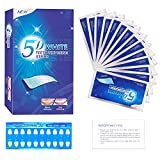 Bande Blanchiment Dentaire 28 Bandes, Breett Bandes de Blanchiment des Dents, Bandes Blanchissantes Dents, Gel Blanchissant Dentaire, Teeth Whitening Strip,14 Paires 28 Bandes, 20 Minutes Express