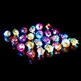 (iSmile) 光る指輪 7種類 24個入り