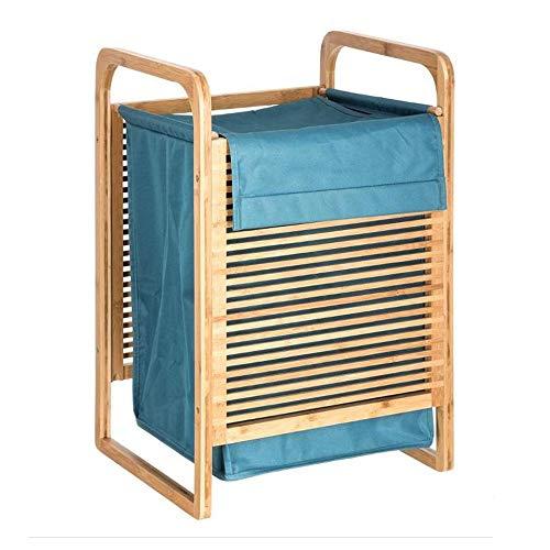 Panier à linge bambou - 40 x 35 x 60,5 cm - Bambou