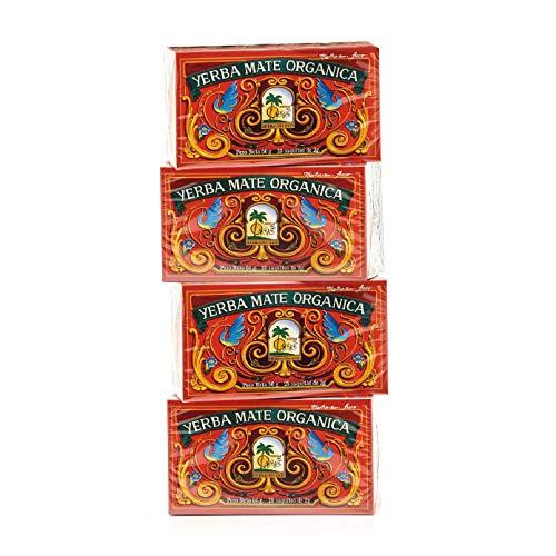 Sacos de te Yerba Mate - Mate Cocido Hierbas del Oasis - Bebida Tradicional Sudamericana (100 Sacos)
