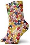 Sheho Calcetines de compresión antideslizantes de gelatina estática, calcetines deportivos acogedores, calcetines de compresión, antideslizantes, 30 cm / 11,8 pulgadas unisex