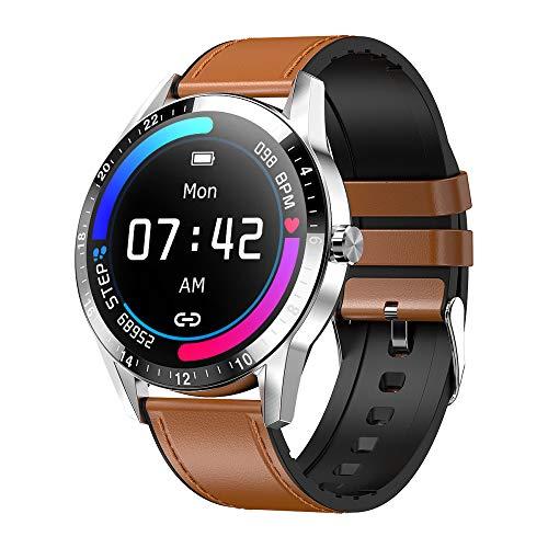 SHANGH Reloj Inteligente G20 Monitor de Ritmo Cardíaco Y Presión Arterial Rastreador de Actividad Pulsera Inteligente IP67 Impermeable Pantalla IPS Multitáctil de 1 3 Pulgadas Podómetro