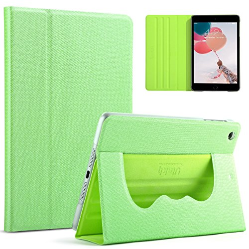 ULAK iPad Mini 3 Case,iPad Mini Case, Slim 360 Rotating Smart Stand Case Cover for Apple iPad Mini 1/ iPad Mini 2/ iPad Mini 3 with Sleep/Wake Feature (Green)