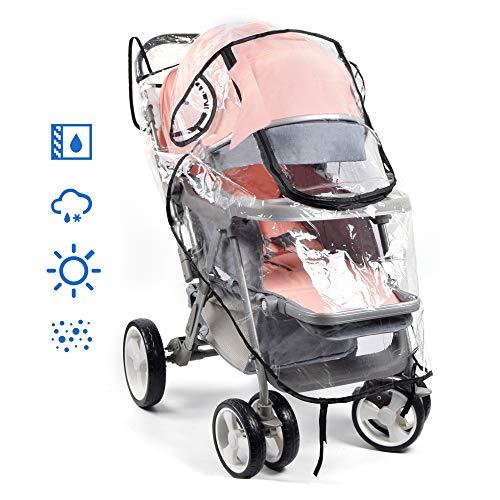 PEVA Regenschutz universal XL PVC frei Kinderkarre Sportwagen Buggy Kinderwagen