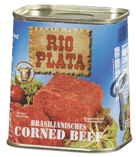 Rio Plata Corned Beef, 12er Pack (12 x 340 g Dose)
