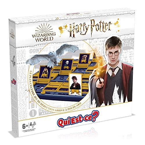 Winning Moves - Qui EST-CE ? Harry Potter 2021 - Version française Multicolore WM01752-FRE-6
