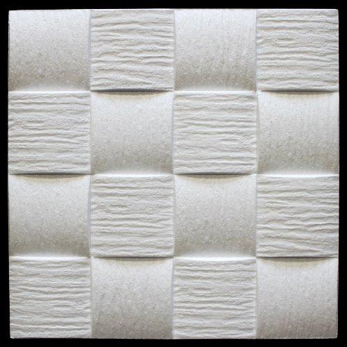 20 qm | Deckenplatten | EPS | formfest | Marbet | 50x50cm | Welle2