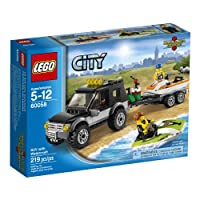LEGO City Great Vehicles 60058 SUV with Watercraft 並行輸入品