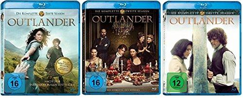 Outlander Staffel 1-3 (1+2+3) [Blu-ray Set]
