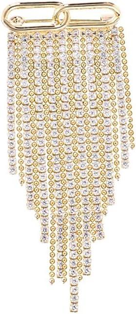 WYBFZTT-188 Full Rhinestone Tassel Brooches Sale Women for Of Bargain Banquet