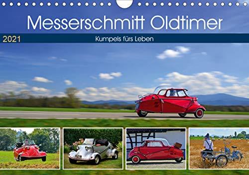 Messerschmitt Oldtimer - Kumpels fürs Leben (Wandkalender 2021 DIN A4 quer)