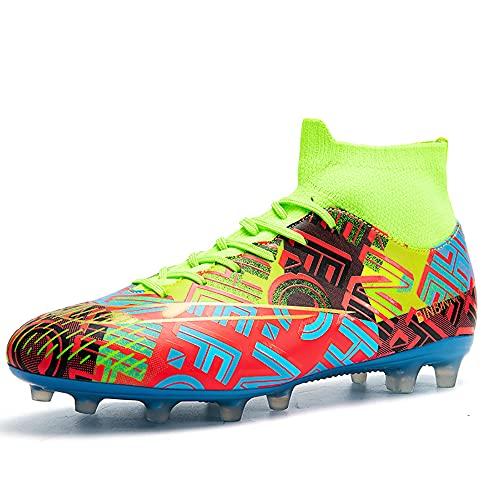 Zapatillas de Fútbol Hombre Profesionales Atletismo Training Botas de Fútbol Spike Aire...