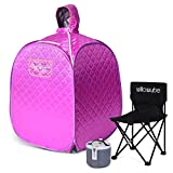WILLOWYBE Portable Personal Steam Sauna for Home, an Indoor Foldable...