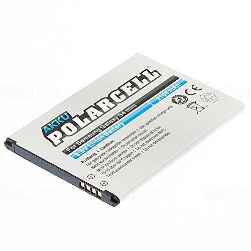 cellePhone PolarCell Akku Li-Ion kompatibel mit Samsung Galaxy S4 Mini (GT-I9190) (Ersatz für EB-B500BEBECWW)
