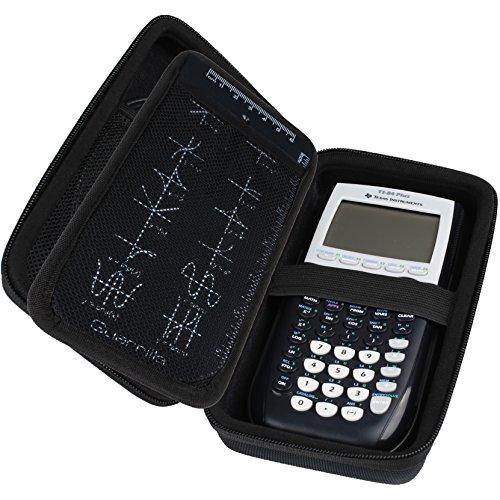 Guerrilla Hard Travel Case for TI-83 Plus, TI-84 Plus, TI-84 Plus Color Edition, TI-89 Titanium, TI-Nspire CX&CX CAS,HP50G Graphing Calculators + Guerrilla's Essential Calculator Accessory Kit, Black Photo #7