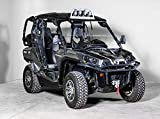 Compatible with Can-Am Commander Half UTV Windshield 3/16' - Made in the USA!.