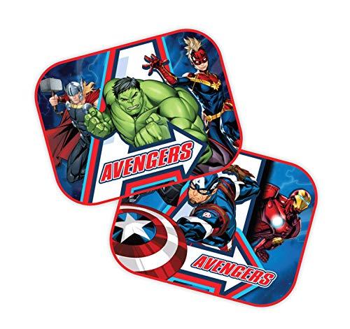 Theonoi 2 x auto zonwering gordijnen zijraam zonneklep selecteerbaar: Mickey - Cars - Star Wars Winnie/UV-bescherming cadeau jongens paw New Avengers