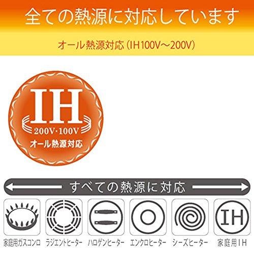 北陸アルミニウム『IHハイキャストいため鍋30cm』