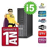 Dell PC Optiplex 7020 SFF Core I5-4570 3.20Ghz 16Go Disque 2To DVD WiFi W7...