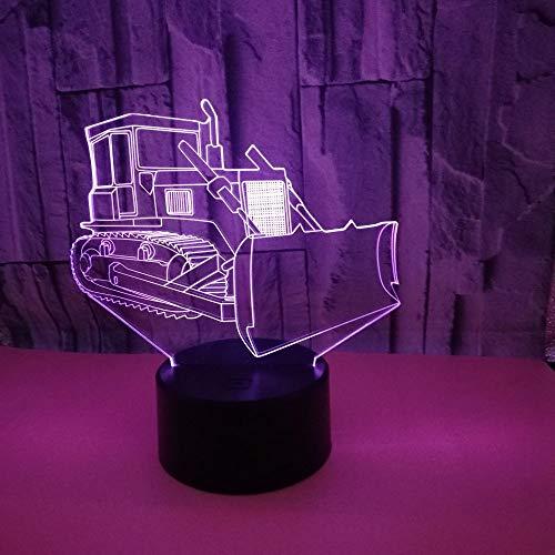 Nachtlicht für Kinder 3D-Schlaflicht Touch Fernbedienung LED Tischlampe Flutlicht weiches Licht Statue zimmer Schlaf Licht dekorative Lichter Party Lichter 16 Farbe USB