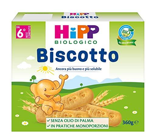 Hipp - Biscotto Solubile Bio, 12 Confezioni da 360 G - 4320 g