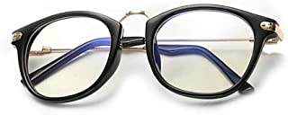 BOZEVON Women Glasses - Metal Frame Classic Vintage Round Clear Lenses Fashion Non Prescription Glasses Men Women Eyewear