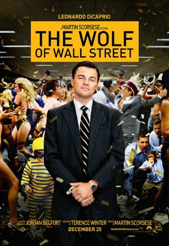 The Wolf of Wall Street (2013) 11 x 17 Movie Poster - Style B