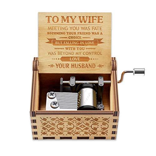 Music Box Gift for Wife - Romantic Birthday Valentine Anniversary...