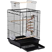 Yaheetech Jaula de Pájaros Jaula para Mascota Jaula Hierro
