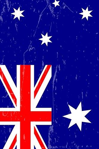 Australia Flag Journal: Australia Travel Diary, Australian Souvenir, lined Journal to write in