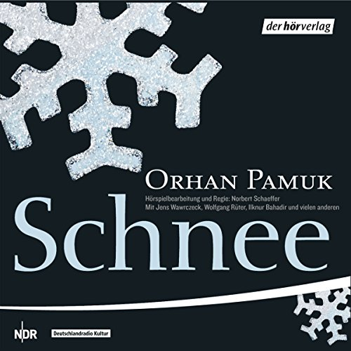 Schnee                   By:                                                                                                                                 Orhan Pamuk                               Narrated by:                                                                                                                                 Wolfgang Rüter,                                                                                        Jens Wawrczeck,                                                                                        Peter Fricke                      Length: 2 hrs and 37 mins     Not rated yet     Overall 0.0